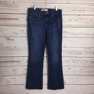 5/$25 Denizen jeans bootcut med wash